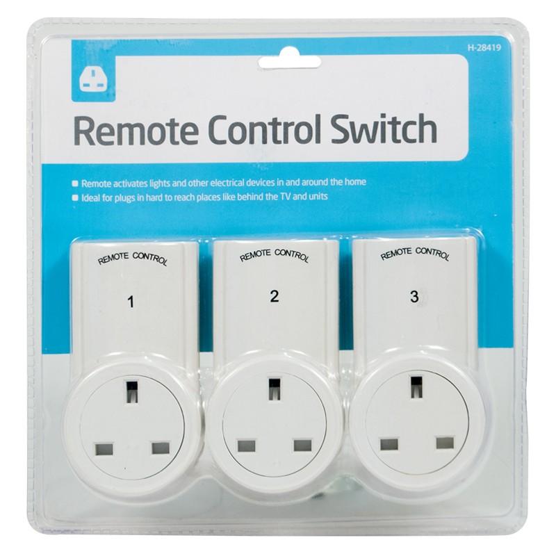 Mando a distancia enchufes inal mbrico interruptor hogar - Enchufes mando a distancia ...