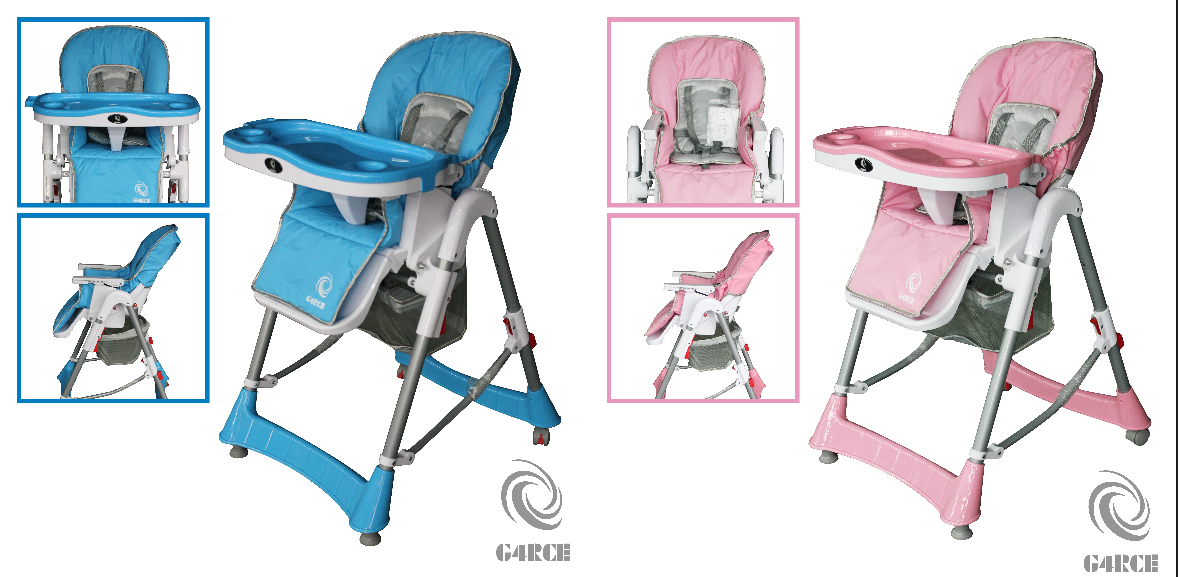 G4RCE FOLDABLE 3 IN 1 BABY TODDLER INFANT HIGHCHAIR FEEDING RECLINER SEAT CHAIR TABLE  sc 1 st  eBay & G4RCE Foldable 3 IN 1 Baby Toddler Infant Highchair Feeding ... islam-shia.org